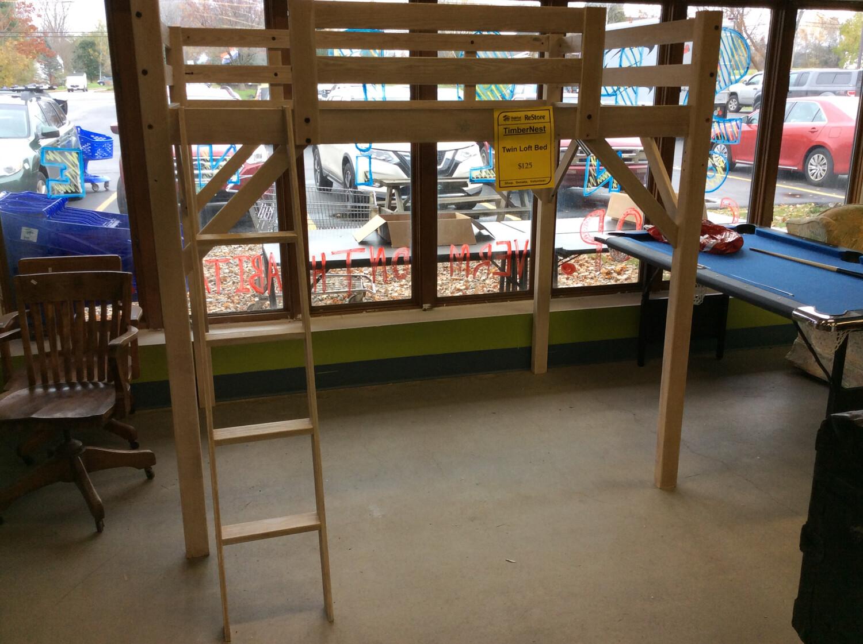 TimberNest Twin Loft Bed