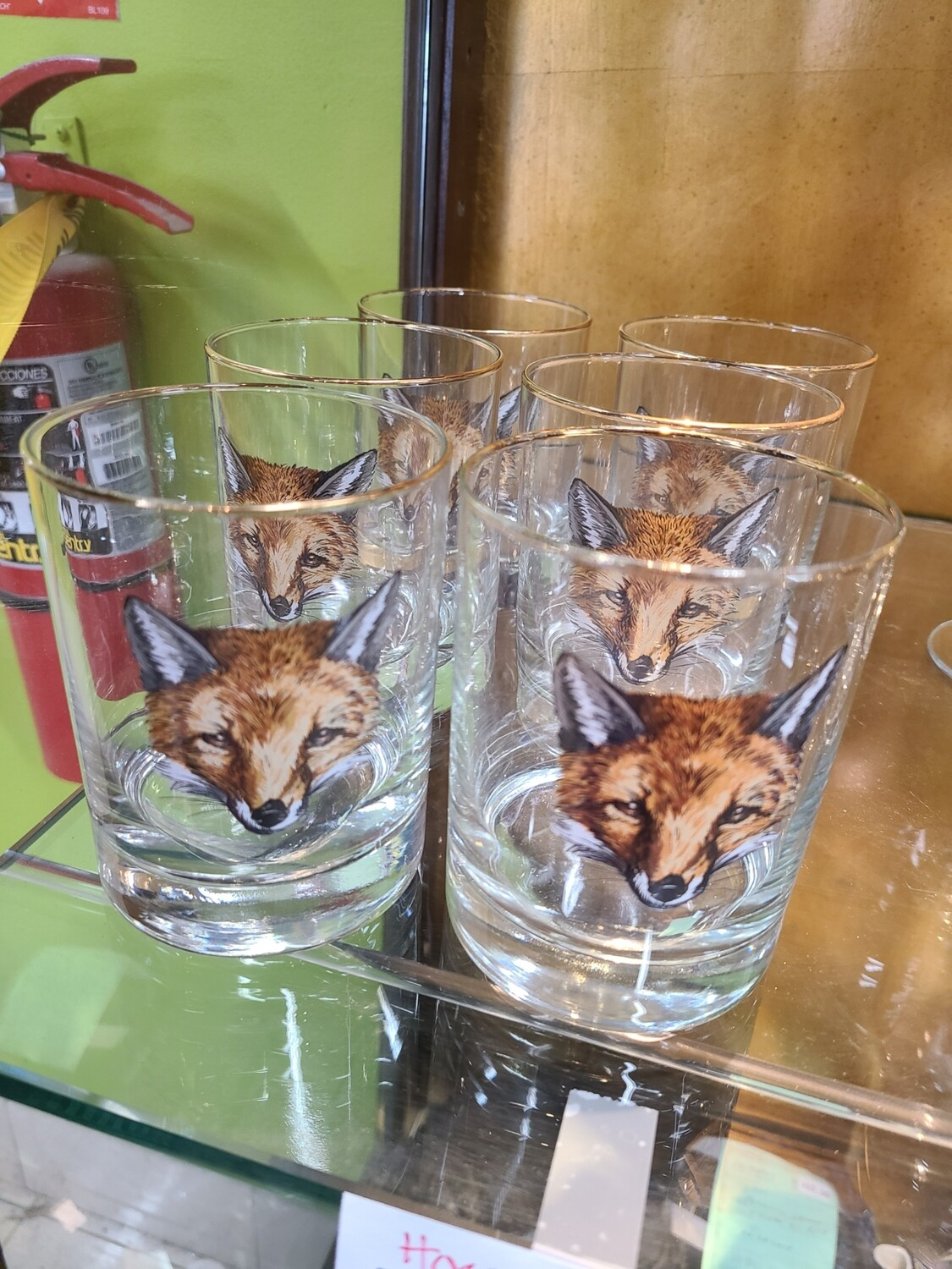 Horse and Hound Fox Glasses