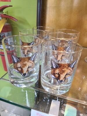 Horse and Hound Fox Glasses
