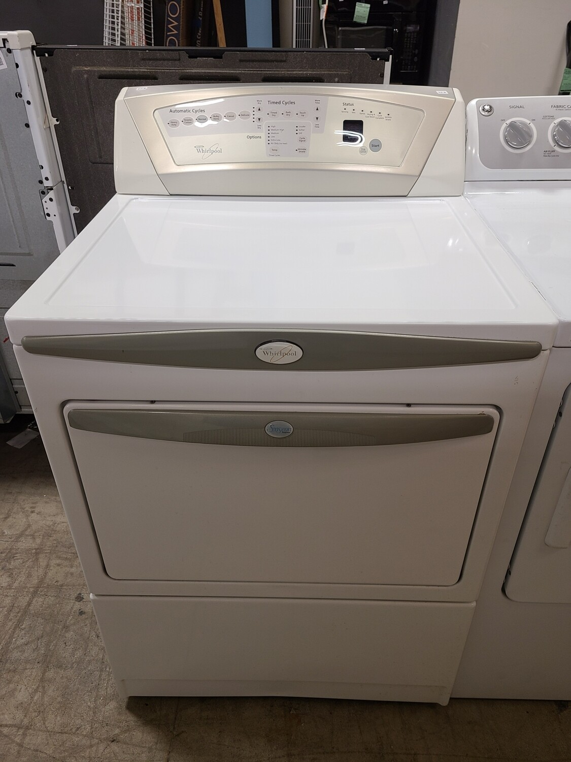 NG Whirlpool Dryer