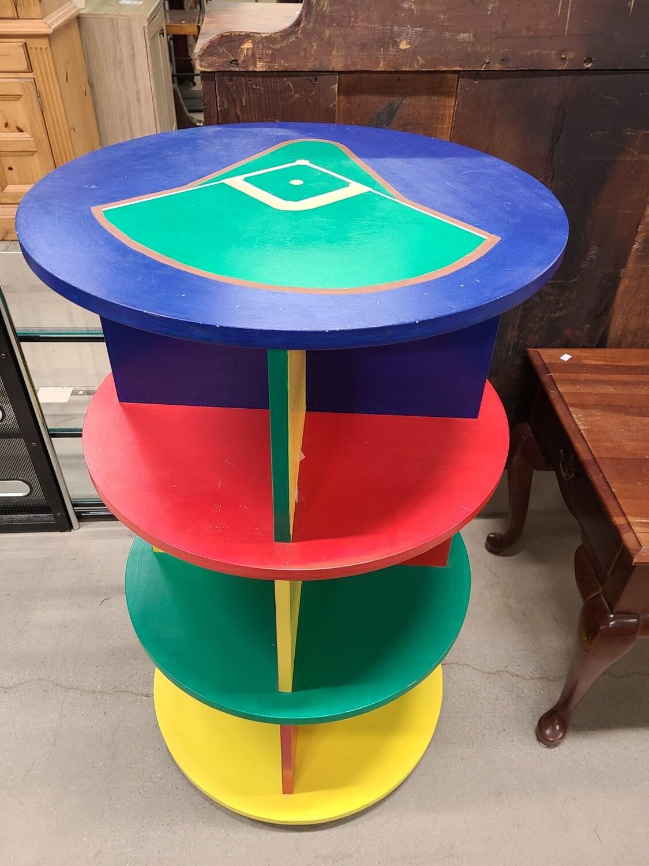 Rotating Baseball Shelf