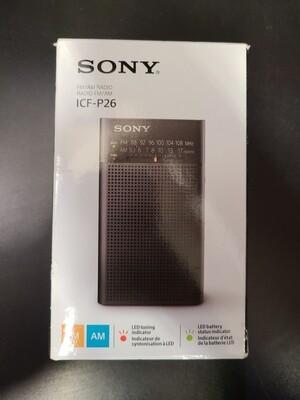 Sony FM/AM Radio