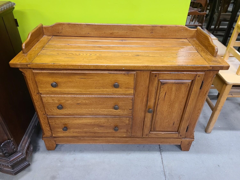 Bassett Oak Dresser