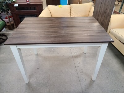 High Top White Dining Table