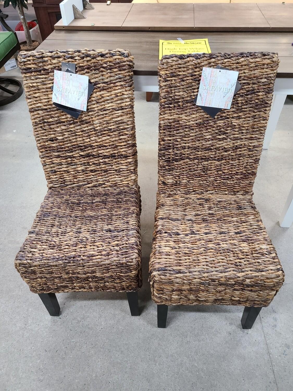 Safavieh Wicker Chair Set