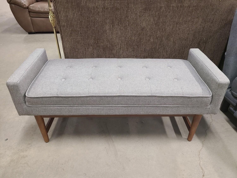 Verken Sette Grey Bench