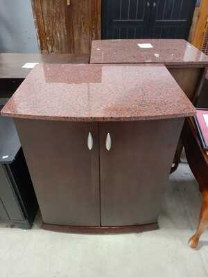Stone Top Cabinet