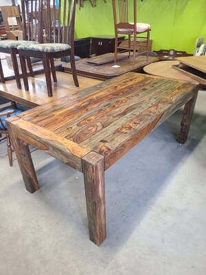 Coaster Warm Chestnut Dining Table