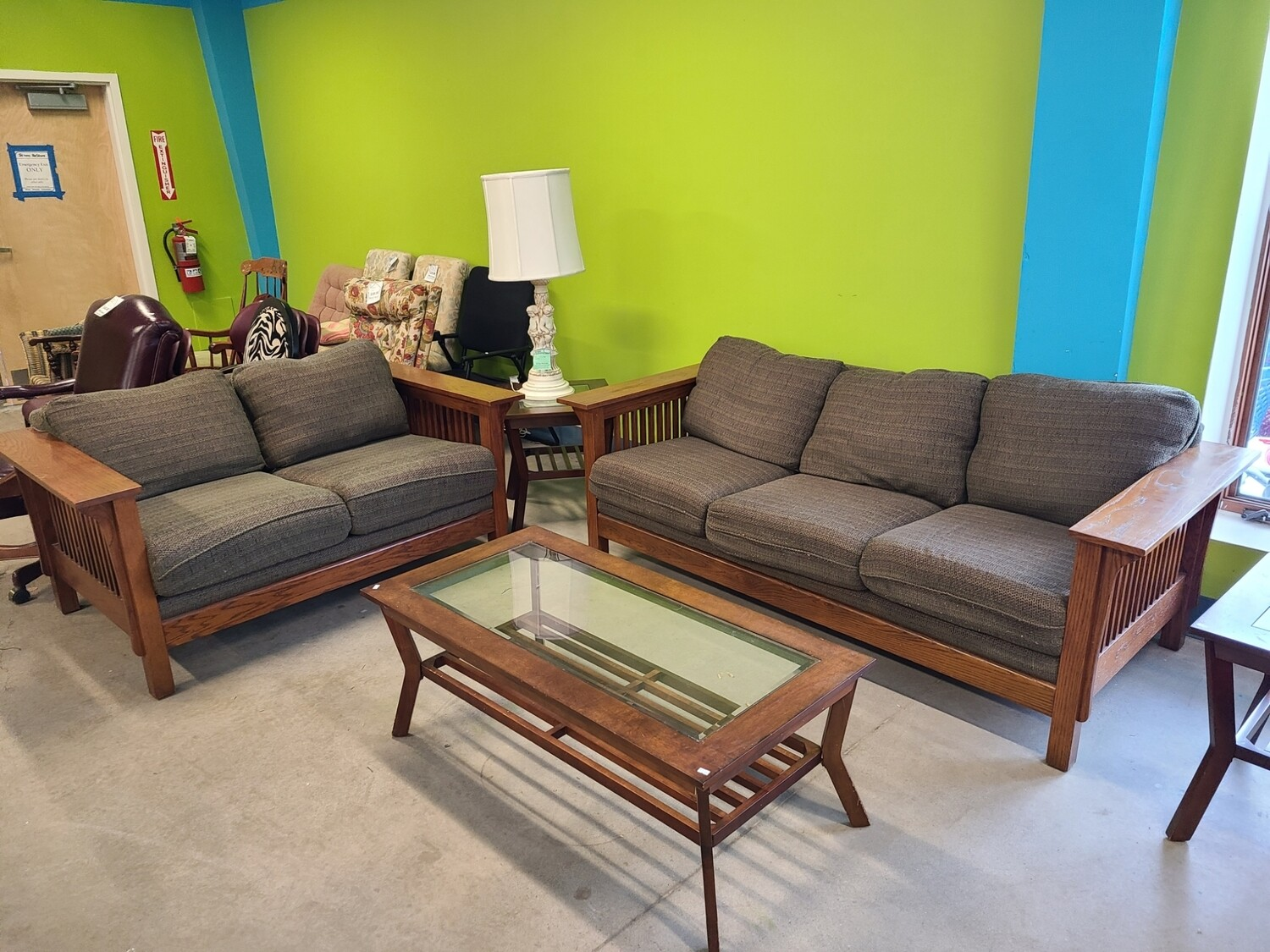 Benchcraft Couch & Loveseat