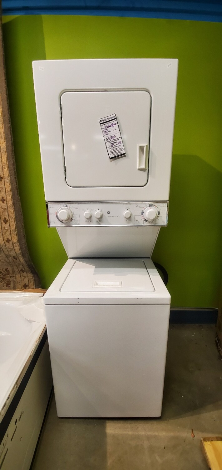 Stacked Electric Washer Dryer