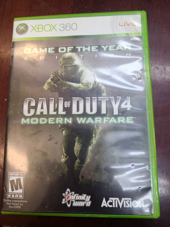 Call of Duty 4: Modern Warfare (360)