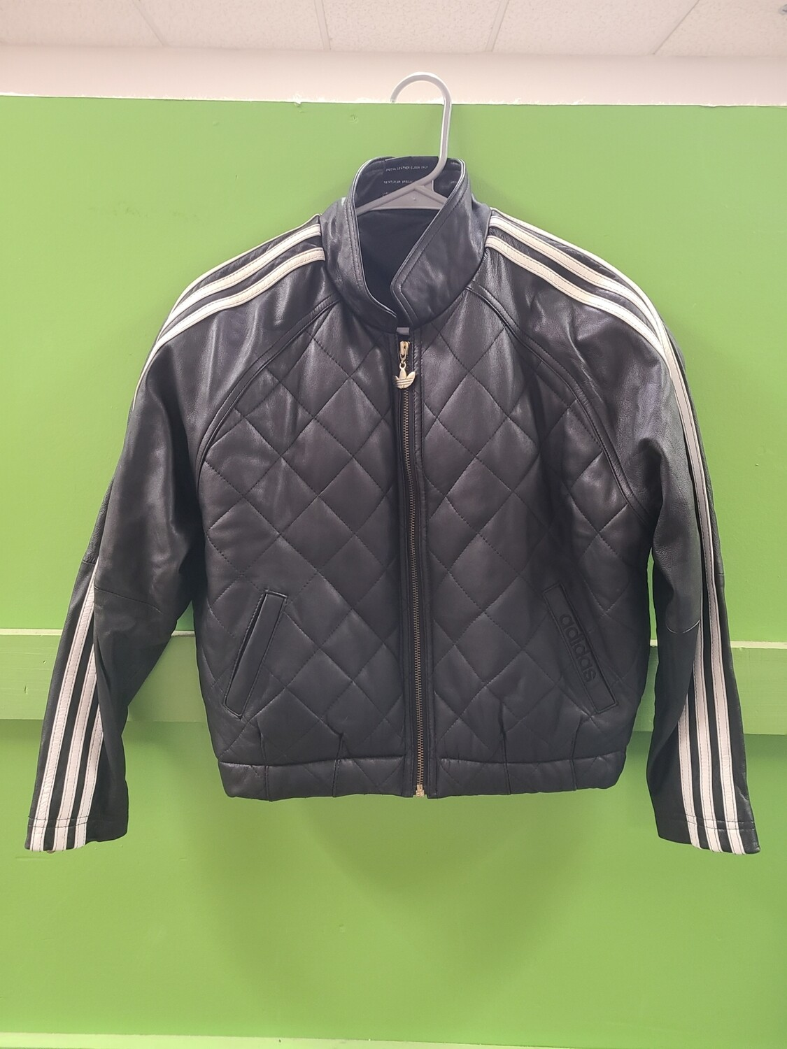 Vintage Adidas Leather Jacket