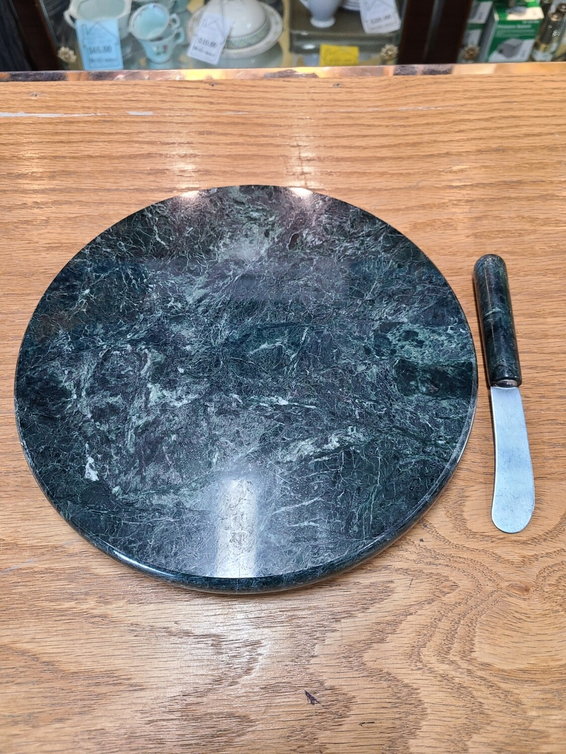 Rochester Vermont Marble Cheeseboard & Knife
