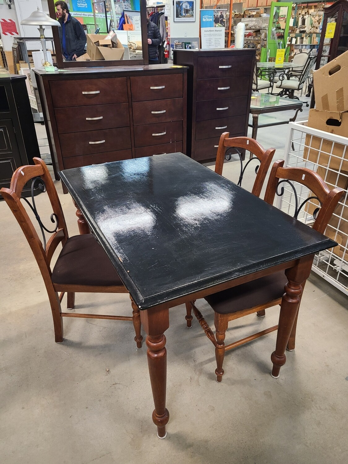 Dining Table and Chair (3) Set