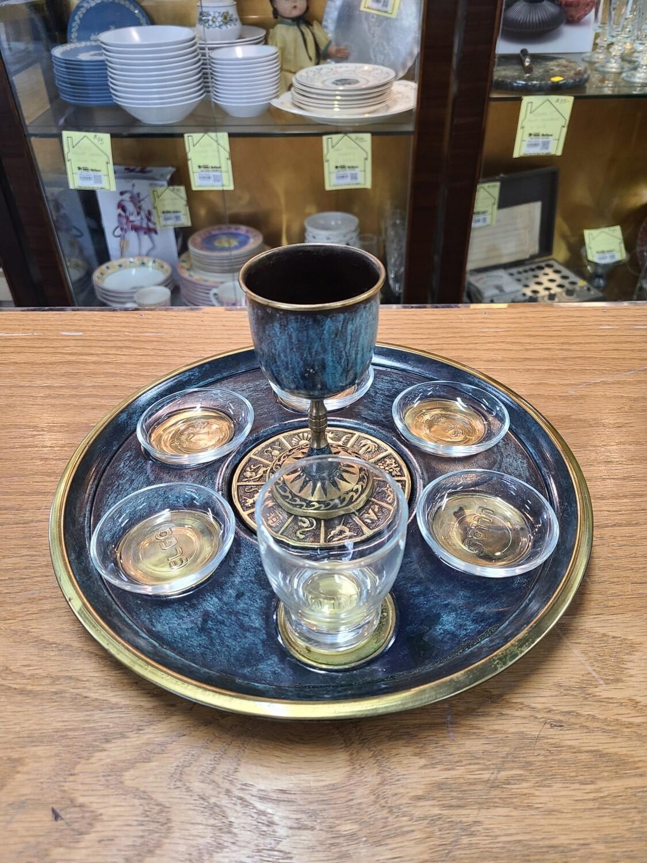 Jewish Ceremonial Seder Plate