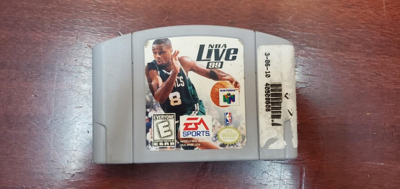 NBA Live 99 - Nintendo 64