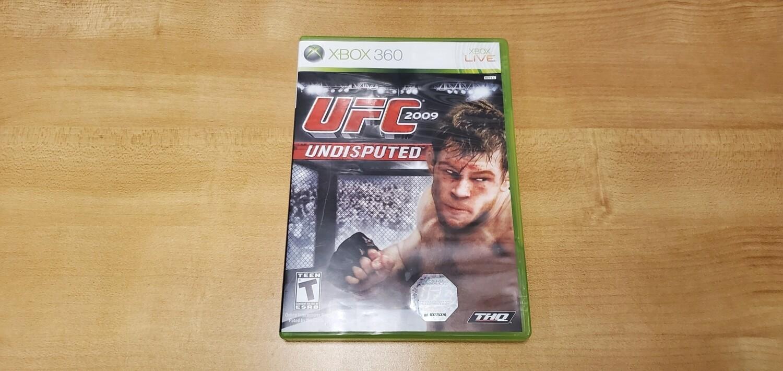 UFC 2009 - Xbox 360