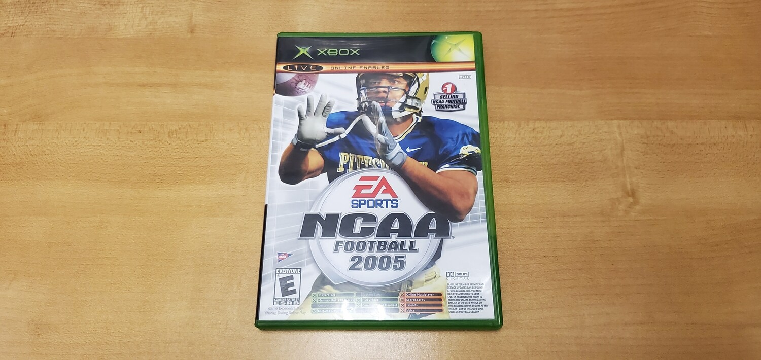 NCAA Football 2005/Top Spin - Xbox