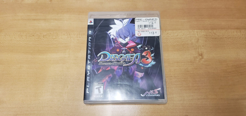 Disgaea 3 - Playstation 3
