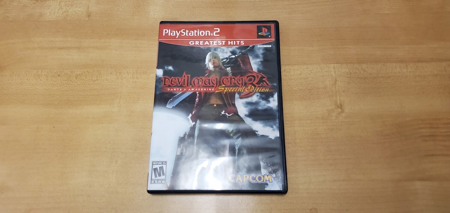 Devil May Cry 3 Special Edition - Playstation 2