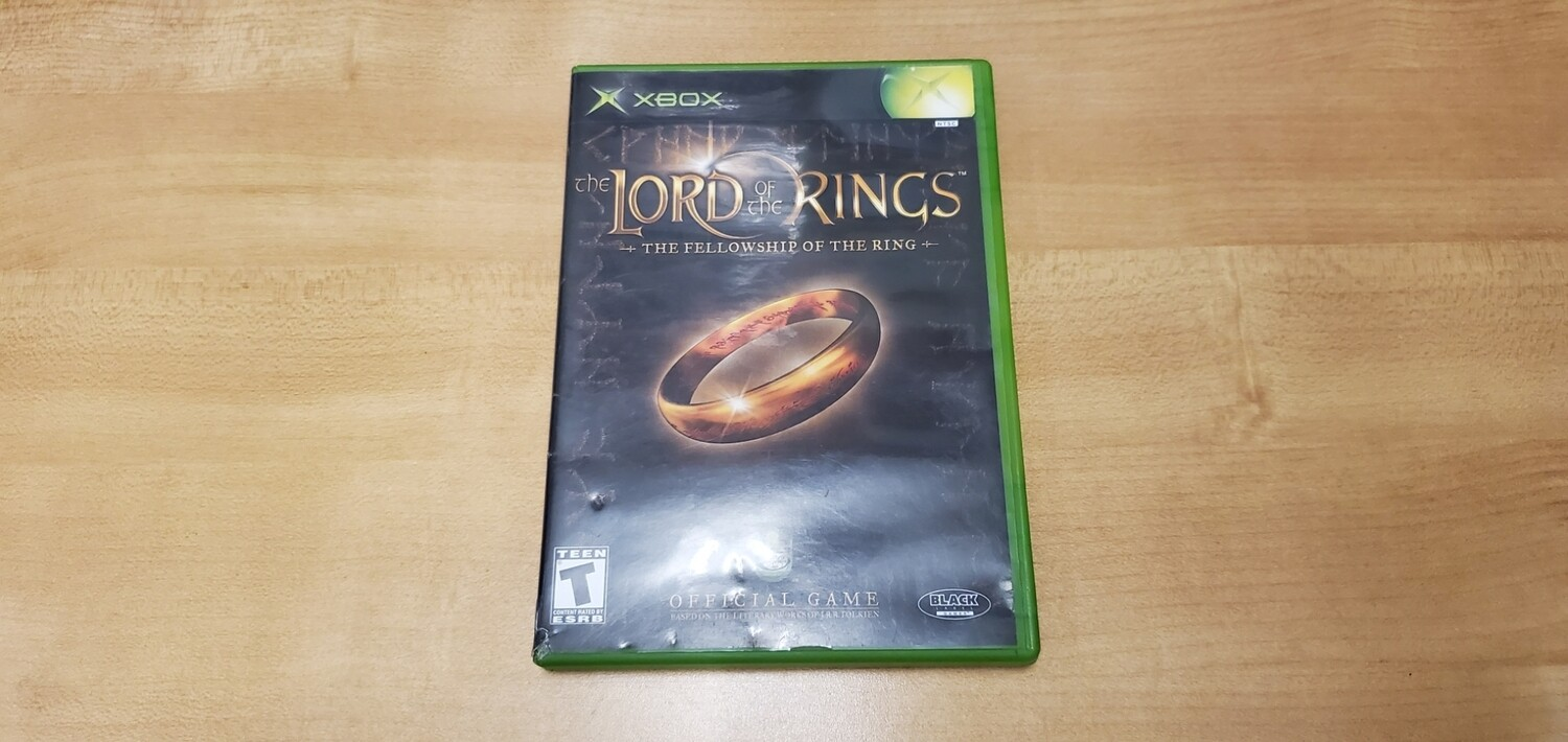The Lord of the Rings: Fellowship of the Rings - Xbox