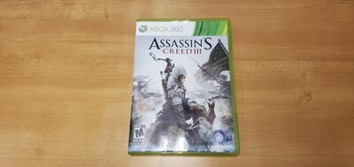 Assassins Creed 3 - Xbox 360