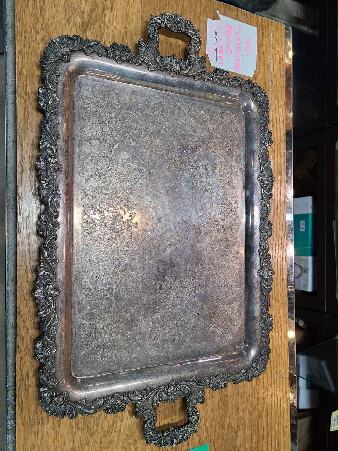 Wilcox Silver-Plated Serving Tray