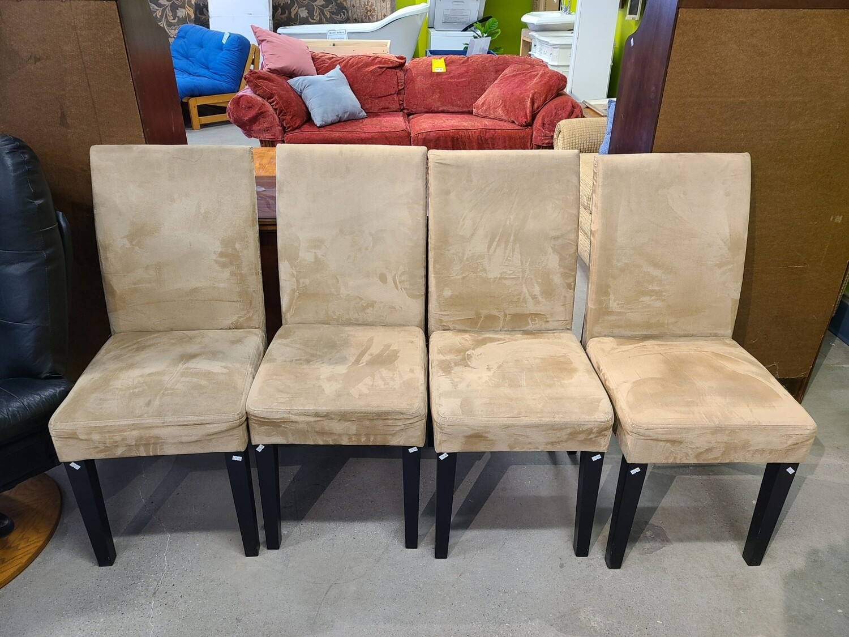 Microfiber Chair Set (4)