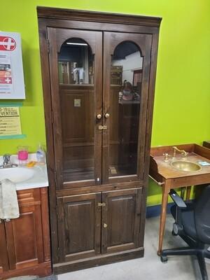 Glass Cabinet w/ Lock