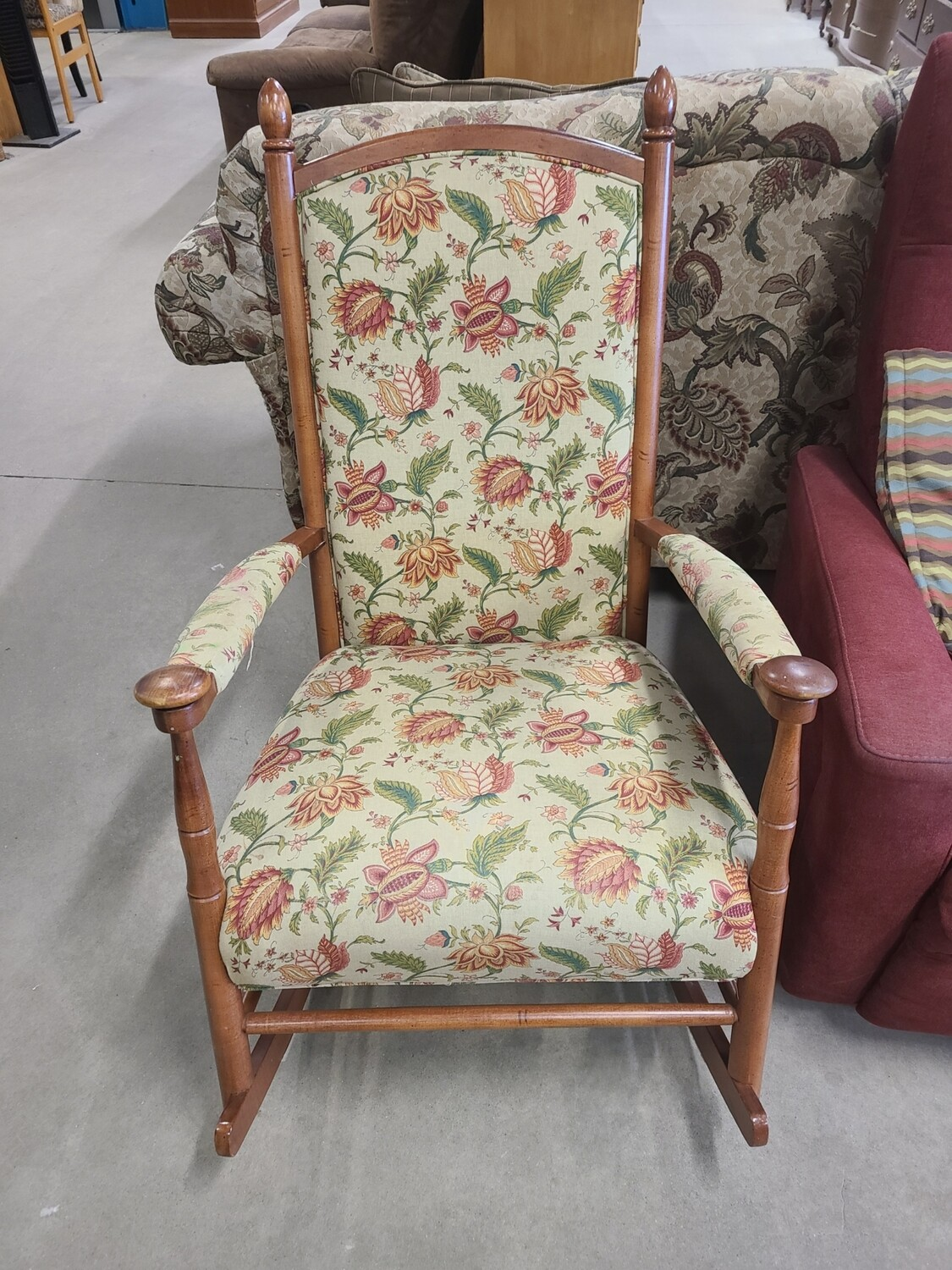 Floral Rocking Chair