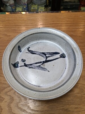Stone Soldier Pottery 'Blue Brushstrokes'