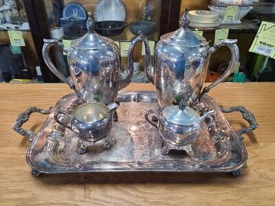 F.B. Rogers Silver Co. Tea Set
