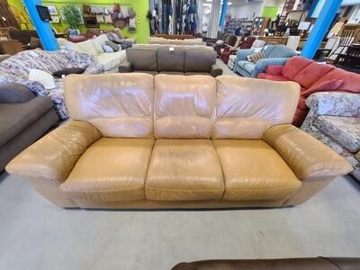 Leather Natuzzi Sofa