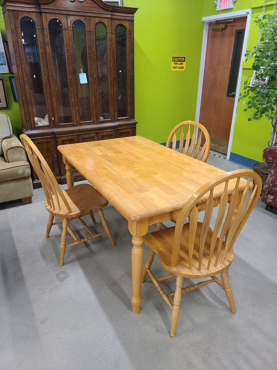Dining Table with Chairs (3)