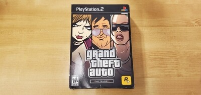 Grand Theft Auto Trilogy - Playstation 2