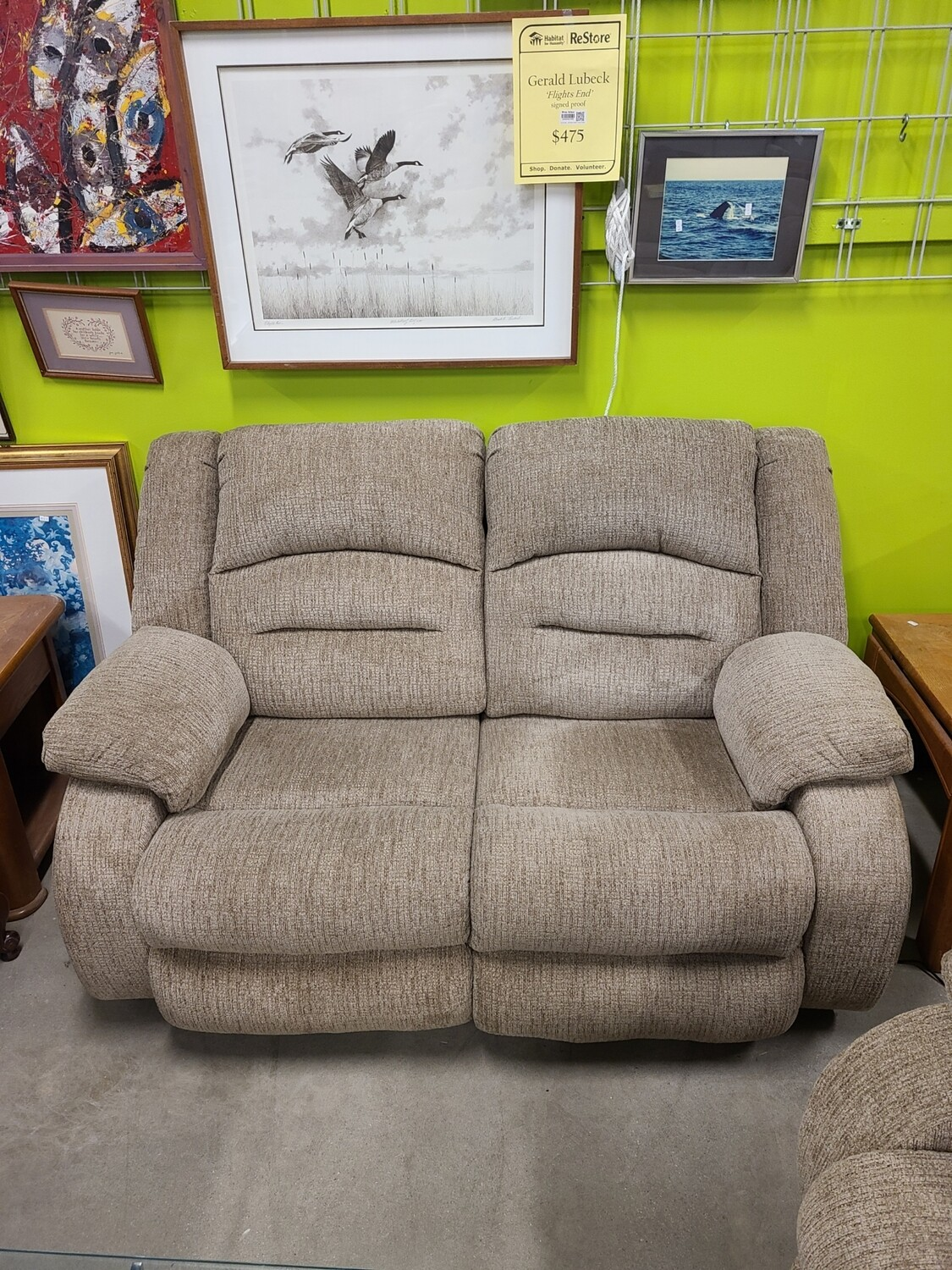 Ashley Furniture Powered Loveseat