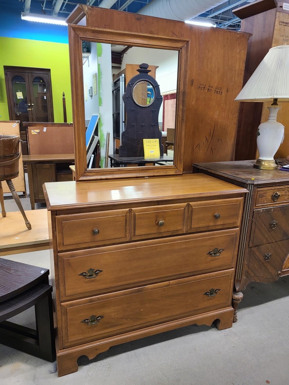 3 Drawer Dresser w/ Mirror