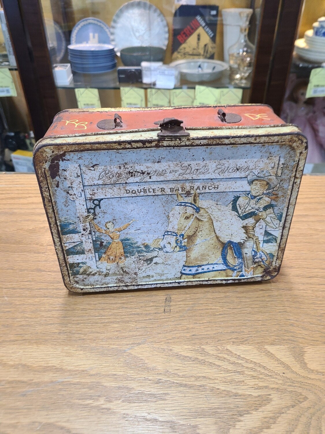 Roy Rogers Double R Bar Ranch Lunchbox