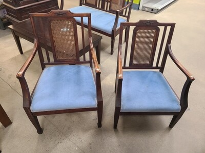 Tiger Maple Chairs (2)