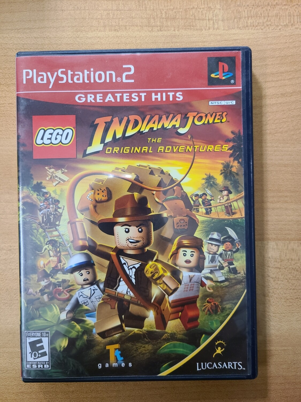Lego Indiana Jones: The Original Adventures - PS2