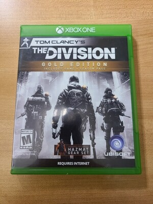 The Division Gold Edition - Xbox One