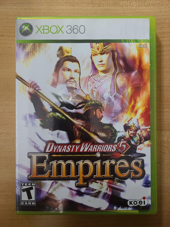 Dynasty Warriors 5: Empires - Xbox 360