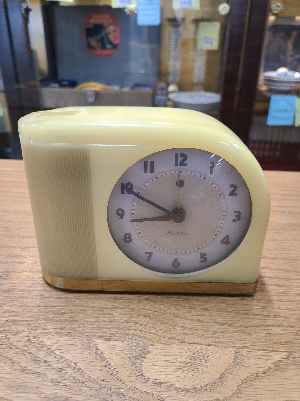 Vintage Westclox Moonbeam Alarm Clock