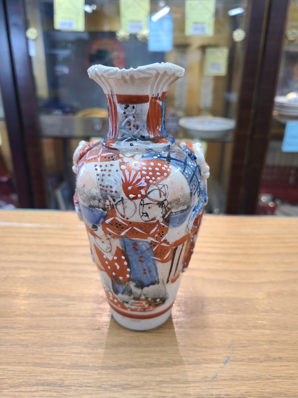 Satsuma Vase C.1880 Restored