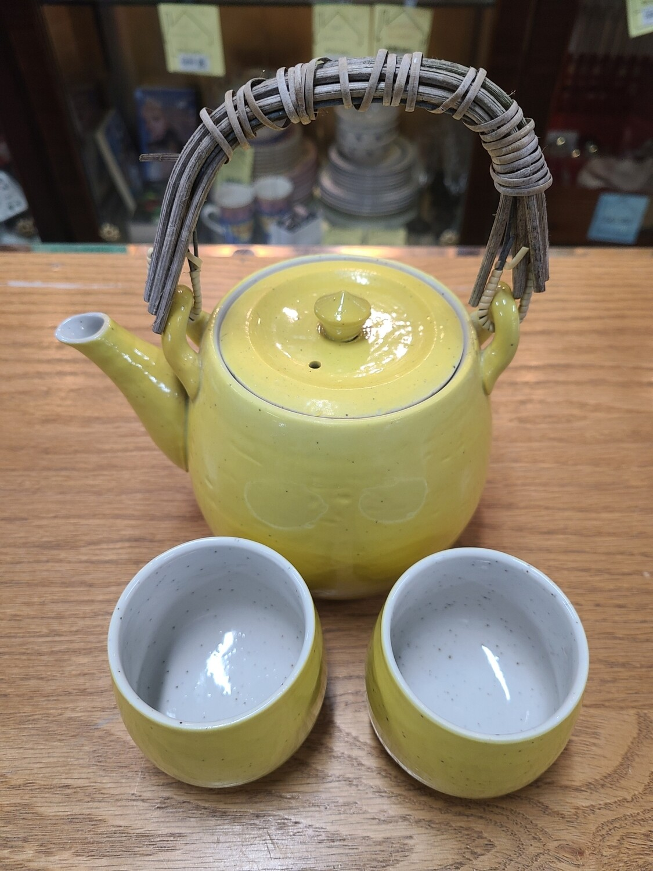 Yellow Handmade Tea Set