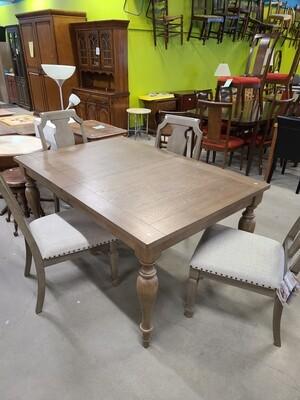 "62"" Dining Room Table w/ Leaf"