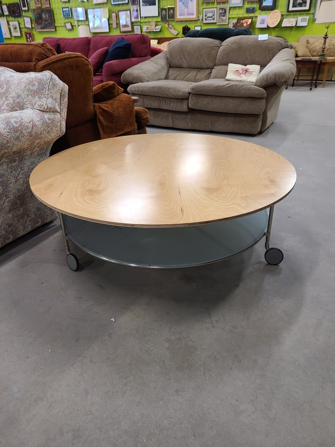 """45"""" Round Coffee Table"""