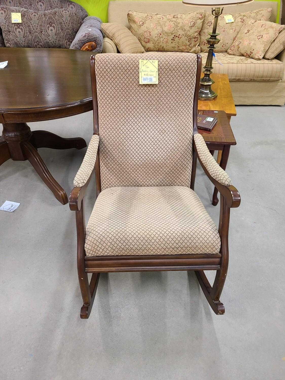 Tan Rocking Chair