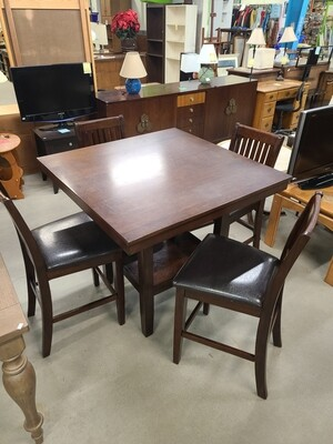 Table & Four Chair Dining Set