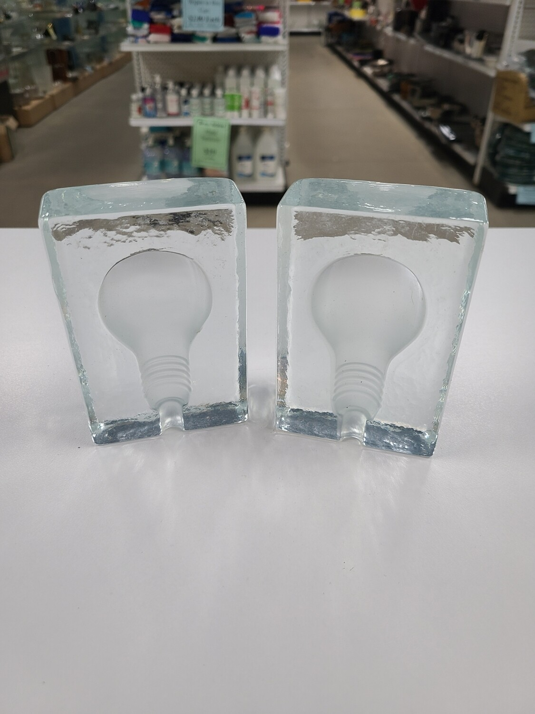 Light Bulb Bookend